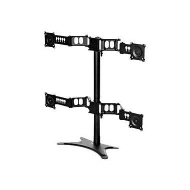 DoubleSight DISPLAYS DS-430STA Quad Monitor Flex Stand For Up to 30