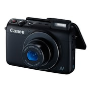Canon® PowerShot N100 12.1MP Compact Digital Still Camera, Black