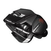 Mad Catz® M.O.U.S. 9 Wireless Mouse, Matte Black