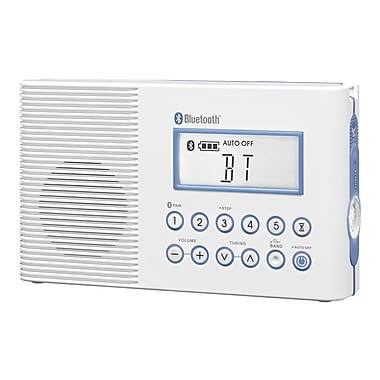Sangean H202 FM/AM Bluetooth Waterproof Radio