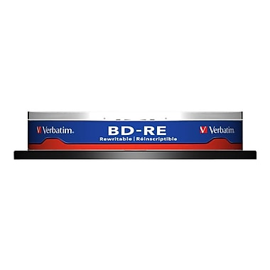 Verbatim 43694 25 GB BD-RE Spindle, 10/Pack