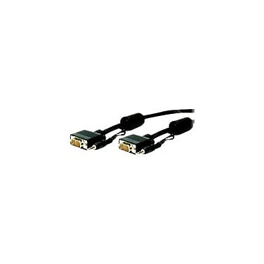 Comprehensive HD-15P-P-10ST/A 10' VGA Audio/Video Cable, Black