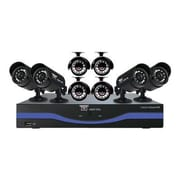 Night Owl L-85-8511 8 Channel 960H DVR With HDMI and 8 x 480 TVL Cameras