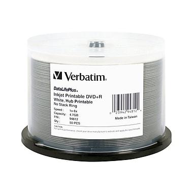 Verbatim 94812 4.7 GB DVD+R Spindle, 50/Pack