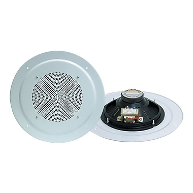 Pyleaudio® PD-ICS8 Full Range 2-Way Ceiling Speaker System, White