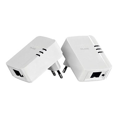 TRENDnet® TPL-406E2K 500 AV Powerline Nano Adapter Kit