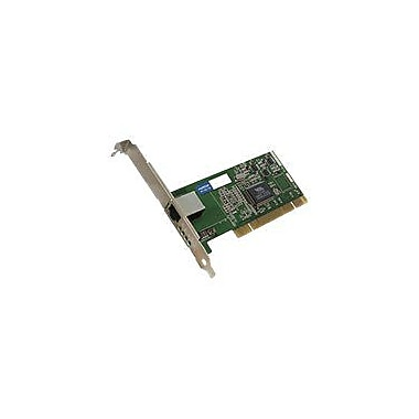 AddOn ADD-PCI-1RJ45 Single RJ45 Port Gigabit Ethernet Network Interface Card For Intel PWLA8391GT