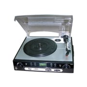 Pyleaudio® PLTTB9U USB Turntable With USB/SD Card Encoder And AM/FM Radio