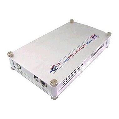 Sabrent® ECS-STU35 USB 2.0/ESATA to IDE External Aluminum Hard Drive Enclosure, Silver