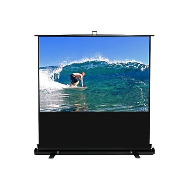 Elite Screens F74XWV1 ezCinema Plus Series 74in. Portable Projection Screen, Black Casing