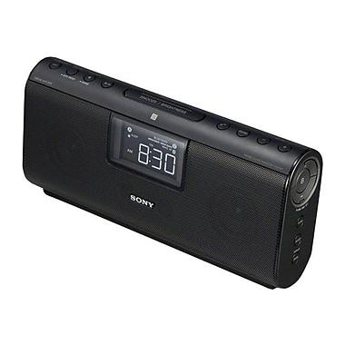 Sony® ICF-CS20BT Bluetooth Clock Speaker With NFC, Black