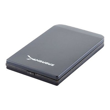 Sabrent EC-25AP USB 3.0 2 1/2in. SATA Hard Drive Enclosure, Black
