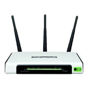 TP-LINK TL-WR940N Wireless N300 Home Router, 300Mpbs, 3 External Antennas, IP QoS, WPS Button