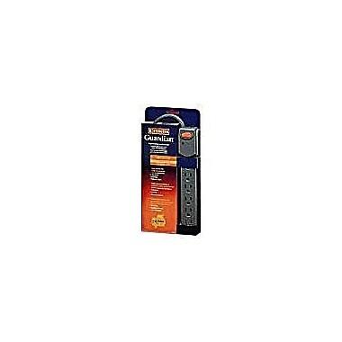 Kensington® Guardian K62132 6-Outlet 220 Joule Surge Suppressor With 5' Cord