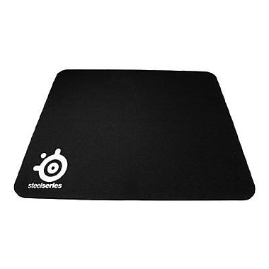 SteelSeries QcK 0.08in.(D) Nonslip Base Rubber Gaming Mouse Pad, Black