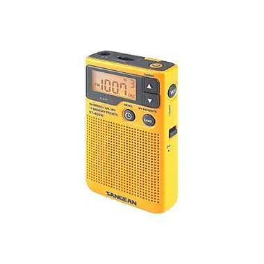 Sangean DT-400W 4.2in. AM/FM Digital Weather Alert Pocket Radio