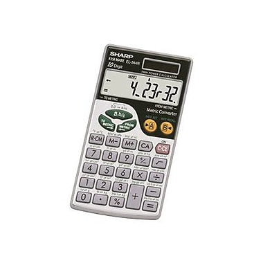 Sharp® EL344RB 10 Digits Display Scientific Calculator