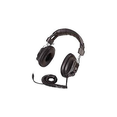 Califone 3068A-V Switchable Stereo/Mono Over-Ear Headphone, Black