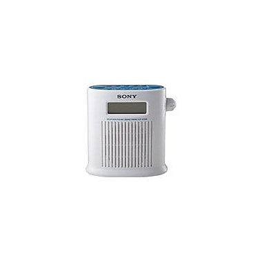 Sony ICF-S79W Weather Band Digital Shower Radio