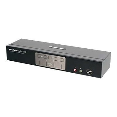 Iogear® GCS1204G DVI-I KVM Switch, 4 Ports