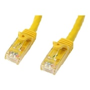 StarTech  N6PATCH50YL Cat6 Patch Cable with Snagless RJ45 Connectors, 50ft, Yellow