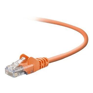 Belkin A3L791-50-ORG-S 50' CAT-5e Patch Cable, Orange