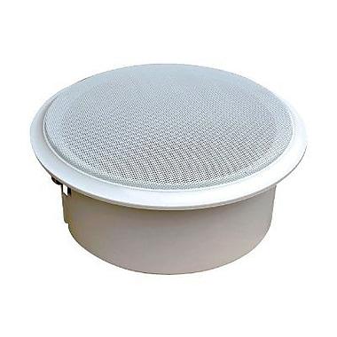 Pyleaudio® PDICS82 Full Range Speaker System, White