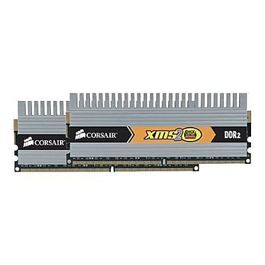 Corsair TWIN2X4096-6400C5DHX DDR2 (240-Pin DIMM) Memory Module, 4GB