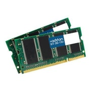 AddOn MB413G/A-AA 4GB (2 x 2GB) DDR2 200-Pin Laptop Memory Module Kit