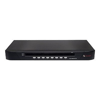 Avocent® SwitchView™ 8SV1000-001 Analog KVM Switch, 8 Ports
