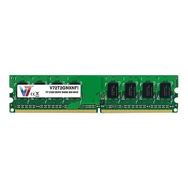 V7® V72T2GNXNFI 2GB (204-Pin DIMM) PC2-6400 Desktop Memory