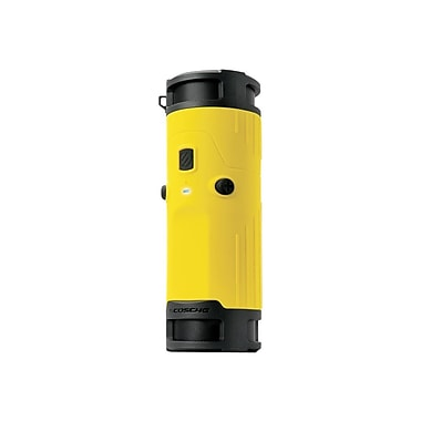 Scosche® BTBTLY 6 W Boom Bottle 2.0 Wireless Speaker System, Yellow/Black