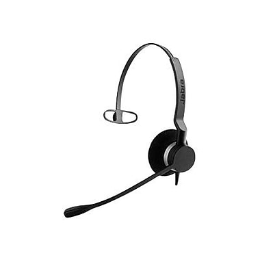 Jabra BIZ 2393-829-109 Wired USB Mono Headset, Black