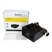 Startech.com® ATX12V 2.3 80 Plus® Computer Power Supply With Active PFC, 530 W