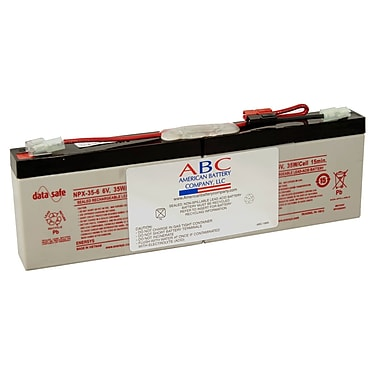 ABC APC RBC18 6 VDC UPS Replacement Battery