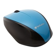 Verbatim 97993 USB Wireless Multi-Trac Blue LED Optical Mouse, Blue