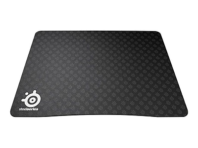 SteelSeries 9HD 0.08 (D) Nonslip Base Plastic Gaming Mouse Pad, Black
