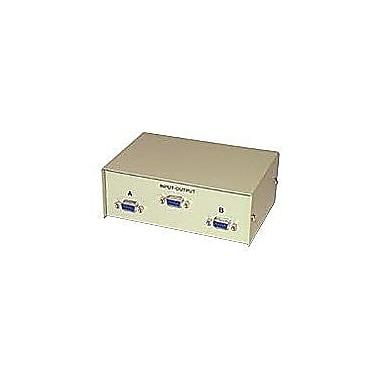 C2G 3364 2-Port HD15 VGA Manual Switch Box