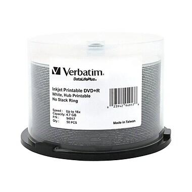 Verbatim 94917 4.7 GB DVD+R Spindle, 50/Pack