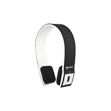 Syba™ Connectland™ CL-AUD23028 Bluetooth Stereo Headset With Microphone, Black/White
