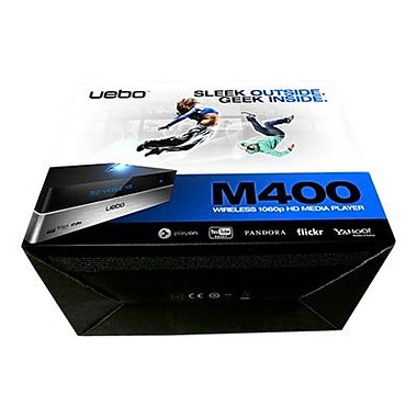 Uebo™ M400 1080P Network/Streaming Media Player with Web Browser