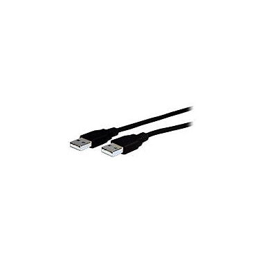 Comprehensive 10' USB 2.0 Male to Male Data Transfer Cable, Black