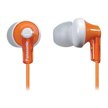 Panasonic® RP-HJE120 ErgoFit In-Ear Headphones, Orange