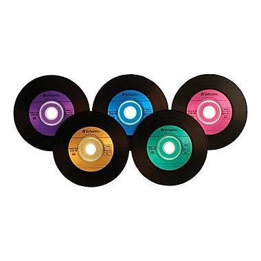Verbatim® 700MB Digital Vinyl Branded CD-R, Spindle, 25/Pack