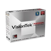 Visiontek® 900371 Radeon HD 6450 GPU Graphic Card With ATI Chipset, 1 GB DDR3 SDRAM