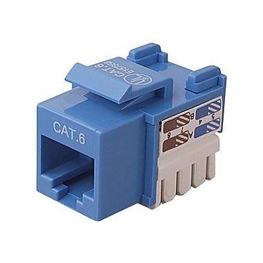 Belkin® Cat.6 Keystone Jack, Blue, 25/Pack