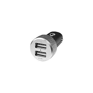 Siig® AC-PW0D12-S1 Dual USB Car Charger, 5 VDC - 3.1 A