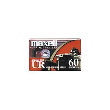 Maxell 109024 Audio Cassette, 60 Minute