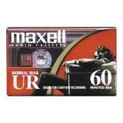 Maxell 109024 Audio Cassette, 60 Minute