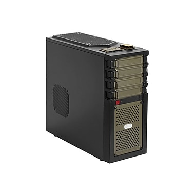 Antec® GX-700 Full-Tower System Cabinet, Black/Green
